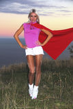 Supergirl Stock Images