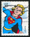 Supergirl Royalty Free Stock Image