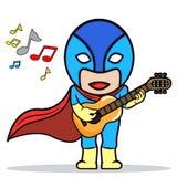 Supergitarrist Stockfotos