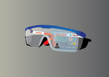 SuperGlasses Immagine Stock
