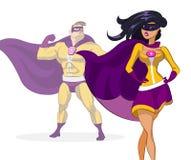 Superhéroe Foto de archivo libre de regalías