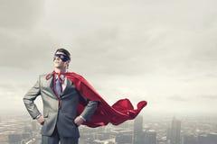 Superhéros courageux photos stock