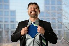 Superhéros d'affaires Image stock