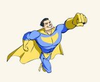 Superheld Stockbild