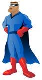 Superheld-Illustration lizenzfreies stockfoto