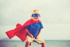Superheld-Kind Stockfoto