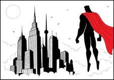 Superheld-Uhr 4 Lizenzfreie Stockfotos