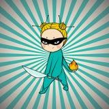 Superheldchef der japanischen Küche Stockfotos