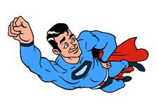 Superheldfarbikone lizenzfreie abbildung