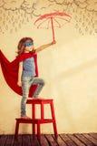 Superheldkind Lizenzfreie Stockfotos