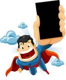 superhero αντιπροσώπων ελεύθερη απεικόνιση δικαιώματος