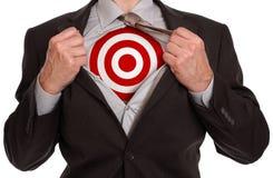superhero επιχειρηματιών στοκ εικόνες
