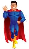 Superhero κινούμενων σχεδίων Στοκ εικόνες με δικαίωμα ελεύθερης χρήσης