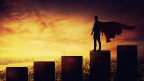 superhero stock afbeeldingen