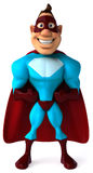 Superhero. Fun superhero, ready to save the world Stock Photo