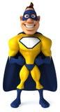 Superhero. Fun superhero, ready to save the world Royalty Free Stock Images