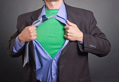 Superhero Stock Photo