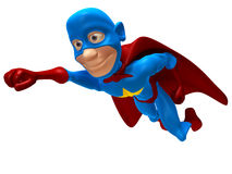 superhero Arkivfoto