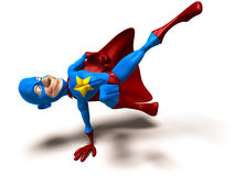 Superhero royalty free illustration