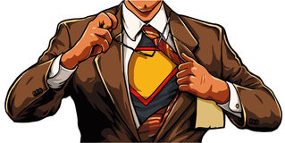 superhero Immagine Stock Libera da Diritti