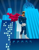 superhero illustrazione di stock
