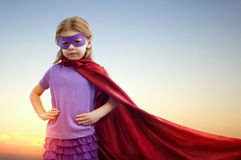 superhero Fotografia de Stock Royalty Free