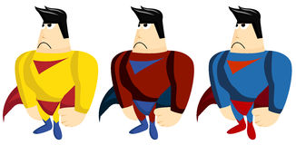superhero Stockbild