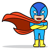 superhero Lizenzfreies Stockfoto