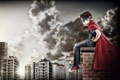 superhero Imagen de archivo