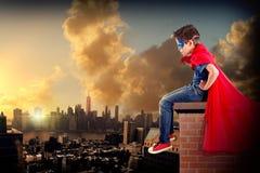 superhero immagini stock