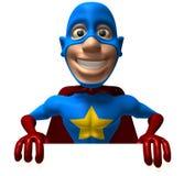 Superhero Royalty-vrije Stock Fotografie