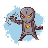 Superhero Boy Iron Sticker Royalty Free Stock Photos