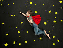 Superhero boy Royalty Free Stock Image