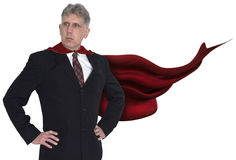 Superhero Businessman, Business, Sales, Marketing Royalty Free Stock Image