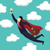 Superhero businessman Royalty Free Stock Photography