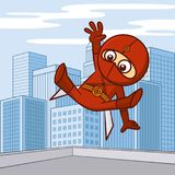 Superhero Cartoon character Stock Photography