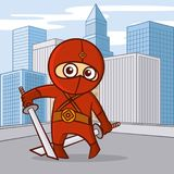Superhero Cartoon character Royalty Free Stock Images
