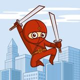 Superhero Cartoon character Stock Photos