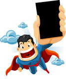 Superhero for Commercials Stock Photo
