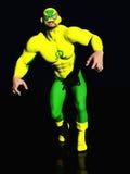 Superhero d'action Images libres de droits