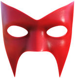 Superhero Face Mask Isolated. A superhero face mask illustration. Super heroes must always hide their true identity so they wear a disguise. Isolated on white royalty free stock image