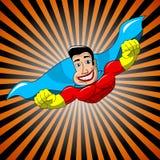 Superhero Flying. Illustration of Superhero flying. Eps available Royalty Free Stock Image