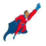 Superhero flying up Stock Photos