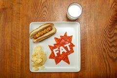 Superhero food, Fat Royalty Free Stock Photo