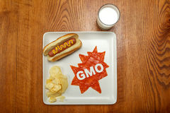 Superhero food, GMO Stock Image
