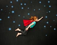 Superhero girl Royalty Free Stock Image