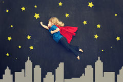 Superhero girl Royalty Free Stock Images
