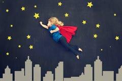 Superhero girl Royalty Free Stock Images