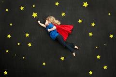Superhero girl Royalty Free Stock Photography