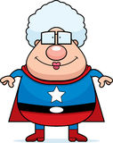 Superhero Grandma Royalty Free Stock Photo